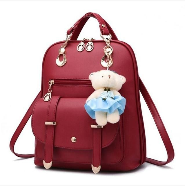 Backpacks Japan And South Korea Trend Of Multi-functional Students Canvas Small Backpack Fashion Personality Multi-color Womens Chest Bag Bringing More Convenience To The People In Their Daily Life