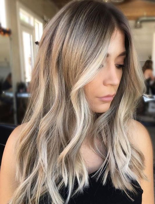 Low Maintenance Perfect Hair Color Ideas For Your Skin Tone Blonde Hair Looks Hair Styles Hair Color For Women