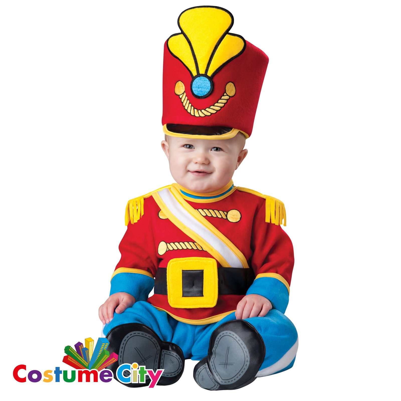 Luxury Babyu0027s Tiny Toy Soldier Nutcracker Fancy Dress Party Christmas Costume | Baby u0026 Toddlersu0027 Fancy Dress | Fancy Dress  sc 1 st  Pinterest : infant christmas costumes  - Germanpascual.Com