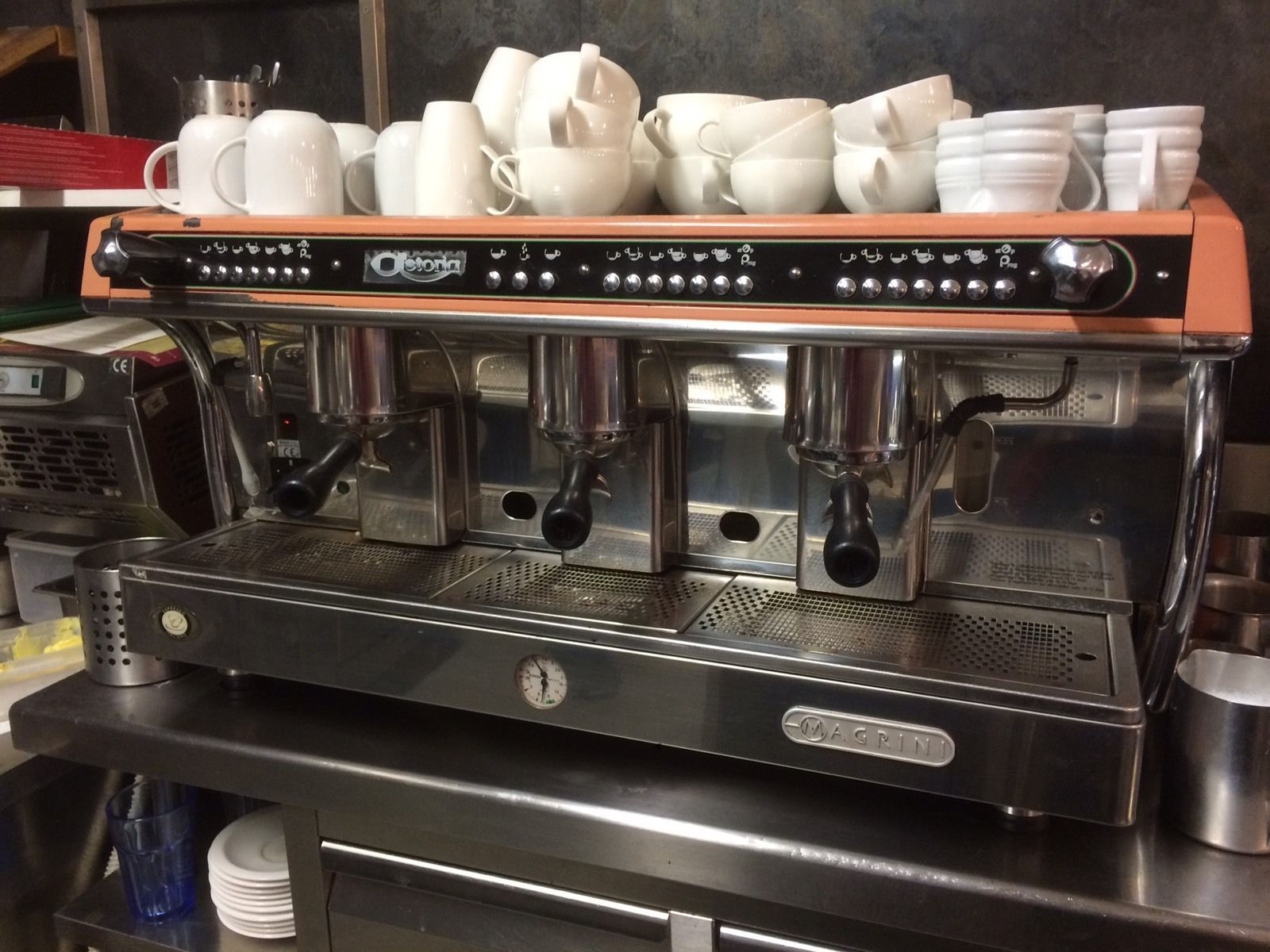 Astoria Magrini Espresso Coffee Machine 3 Group In