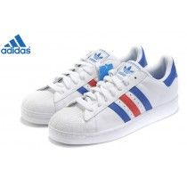 nouveaux styles 3588d 0af0e Achat en solde Adidas Originals Superstar II Chaussures Bleu ...