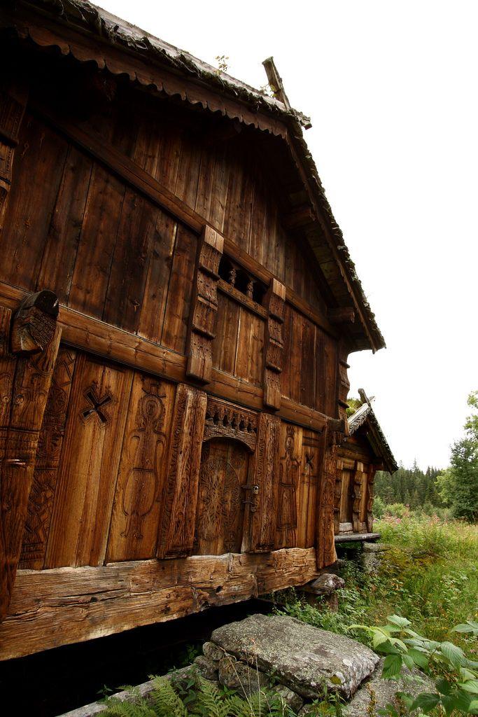 "Beautiful ""stabbur"" (Norwegian outhouse) @ Grimdalen Stabbur, Tokke, Telemark"