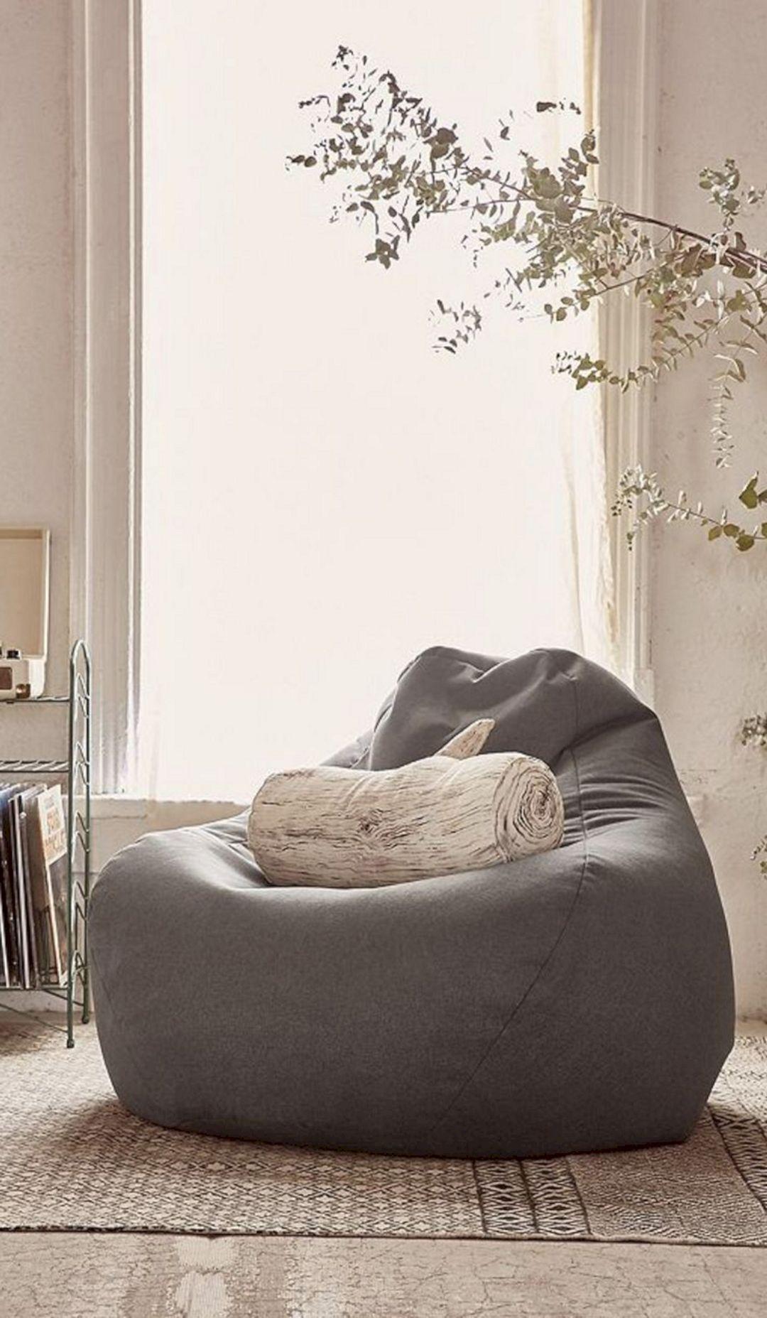 14 Extraordinary Living Room Bean Bag Ideas For More