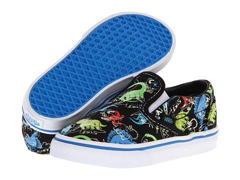 d7ba0e6fe8a Vans Kids Classic Slip-On Glow in the Dark (Infant/Toddler) (Multi ...