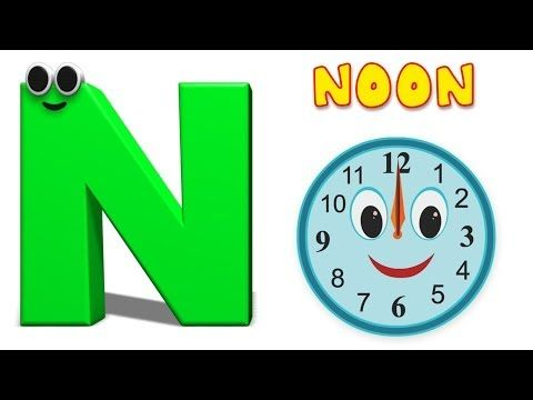 Phonics Letter- N Song Kids Tv Nursery Rhymes S01EP170 - YouTube  Graduation Songs For Kids, Phonics Song, Nursery Rhymes