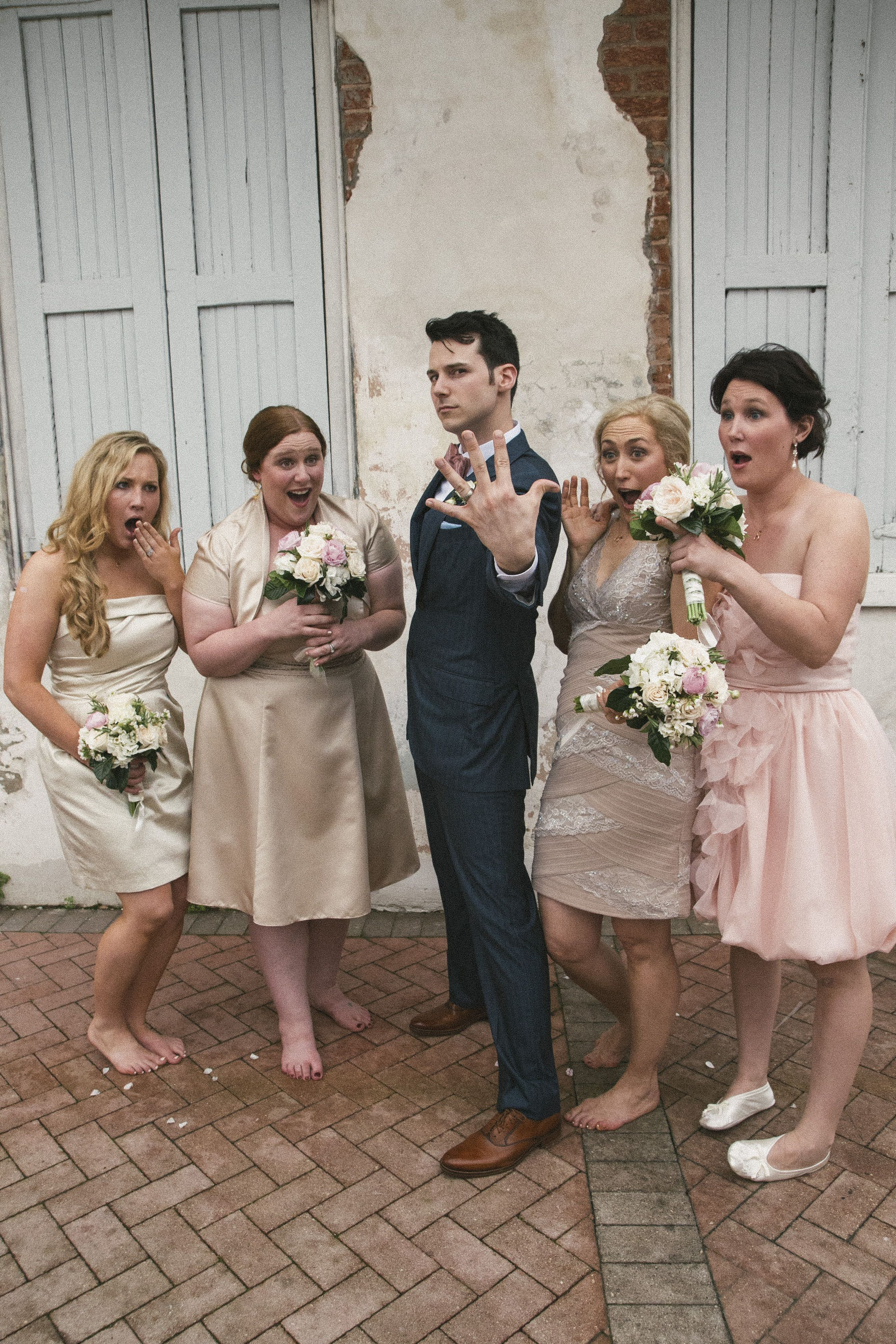 Whimsical Nola Wedding with Personal Touches on Borrowed & Blue.  Photo Credit: G. Chapin Studios