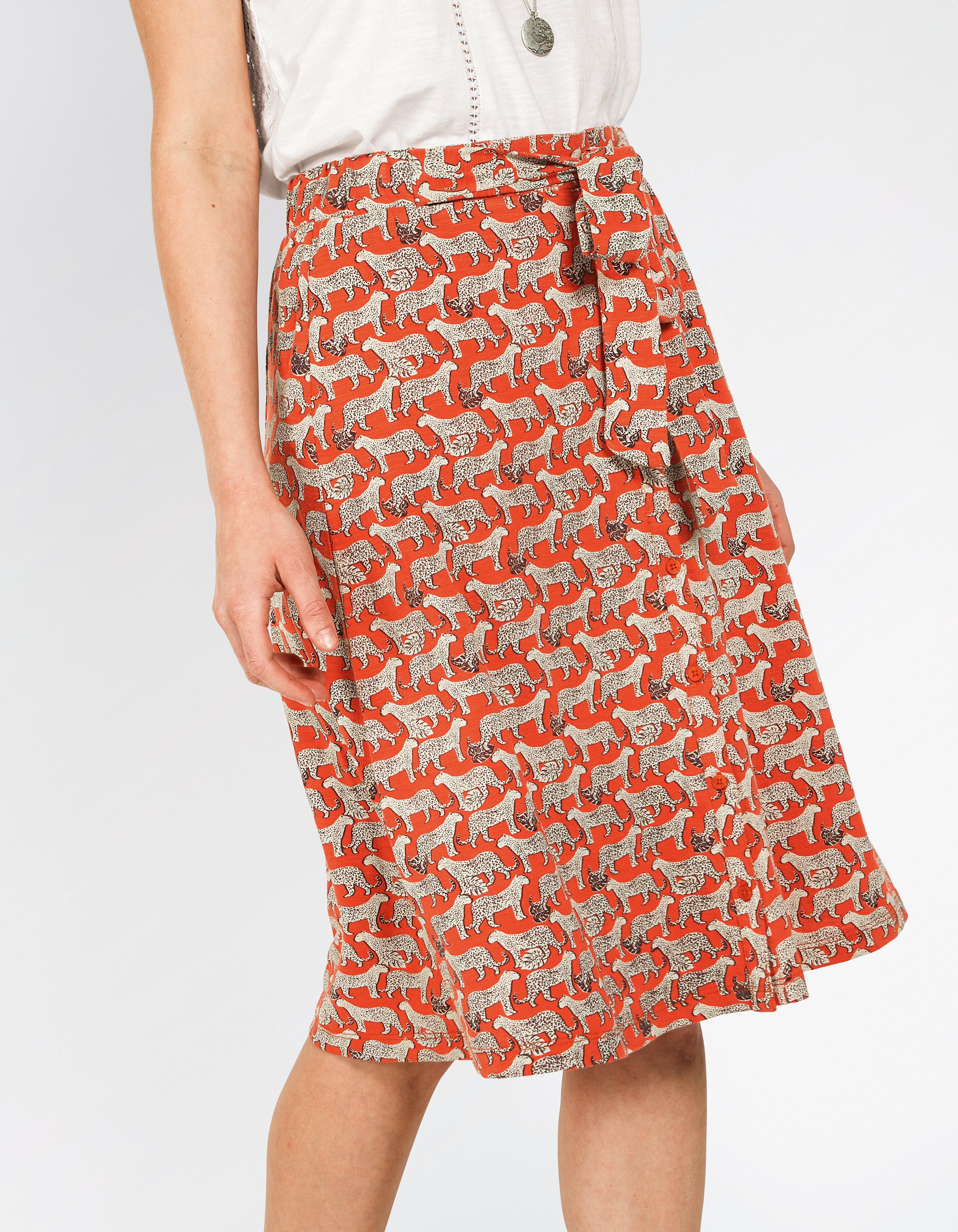 84151ce4e5 Mina Jungle Cat Skirt   My Fat Face   Skirts, Dress skirt, Fat face