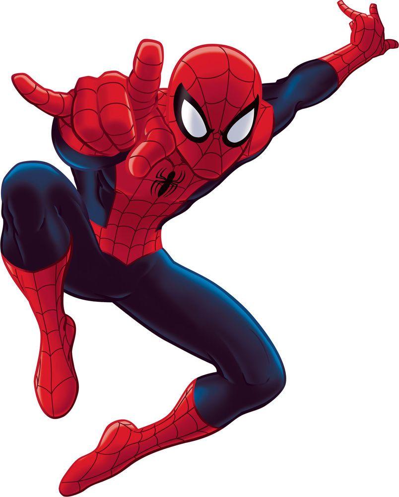 Spiderman Marvel Hero Wall Mural Boy Bedroom Sticker
