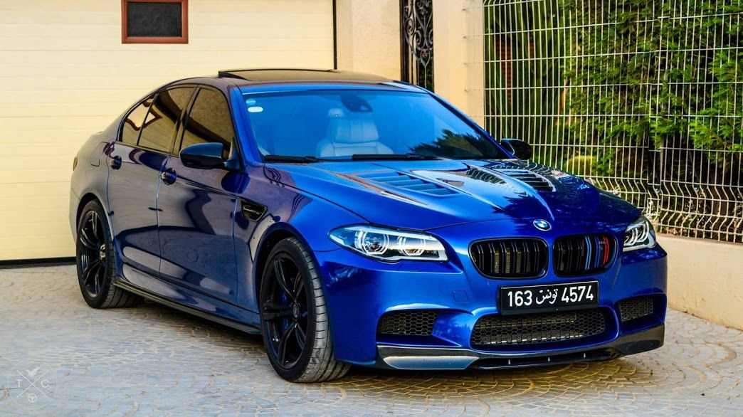 Stunning blue 740 hp BMW F10 M5 tuned by Manhart. Click to find the best  selection of BMW Accessories & Parts on CARiD.com! | Bmw m5, Bmw, Bmw  accessories