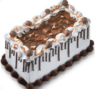 BaskinRobbins Chocolate Caramel Turtle Cake this looks sooo