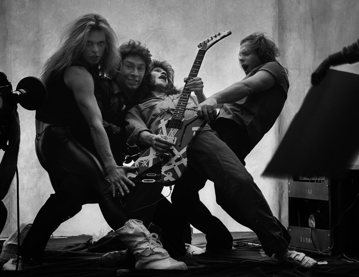 The Private Photo Shoot That Sparked A War Inside Van Halen Van Halen Eddie Van Halen Halen