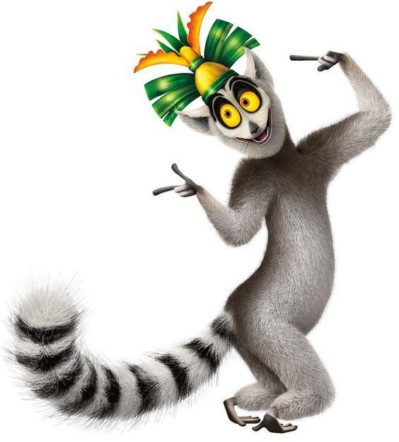 Lemur Clipart King Julian 5 Madagascar Lemur King Julian