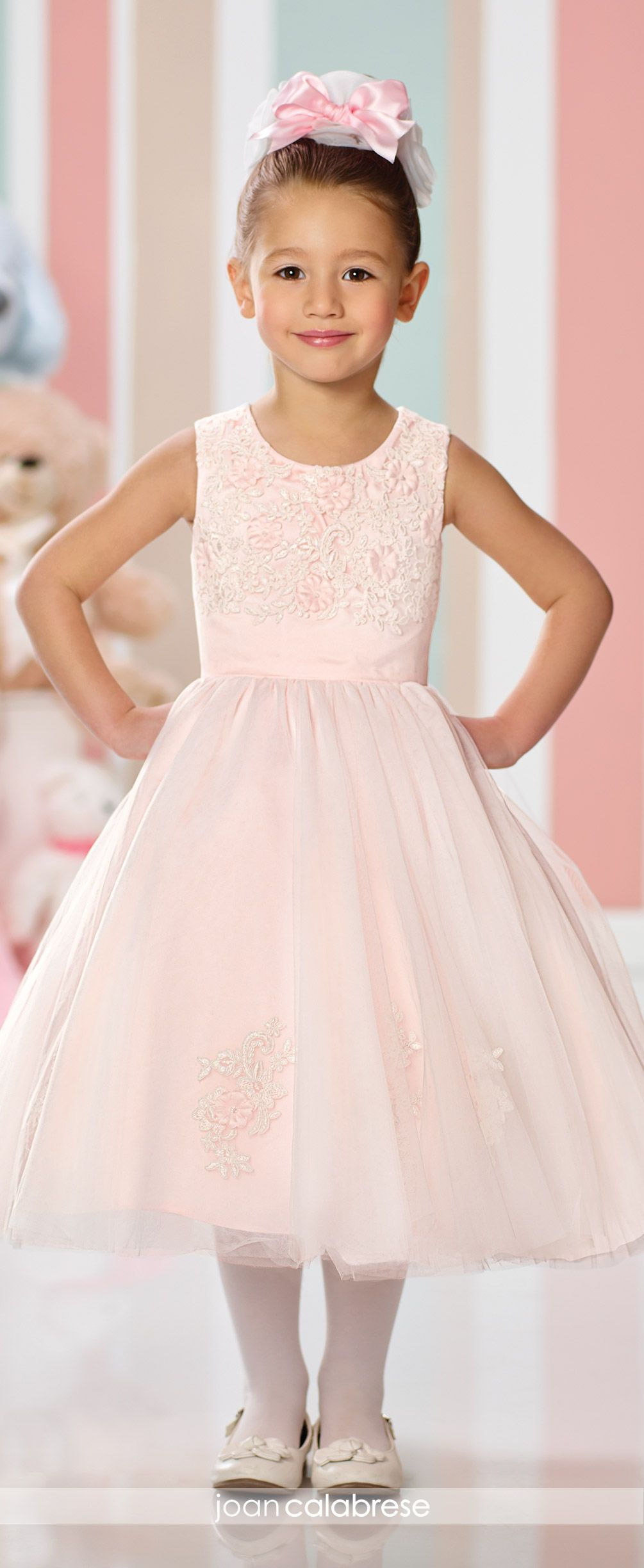 Joan Calabrese Flower Girl Dresses Pinterest Pink Flower Girl