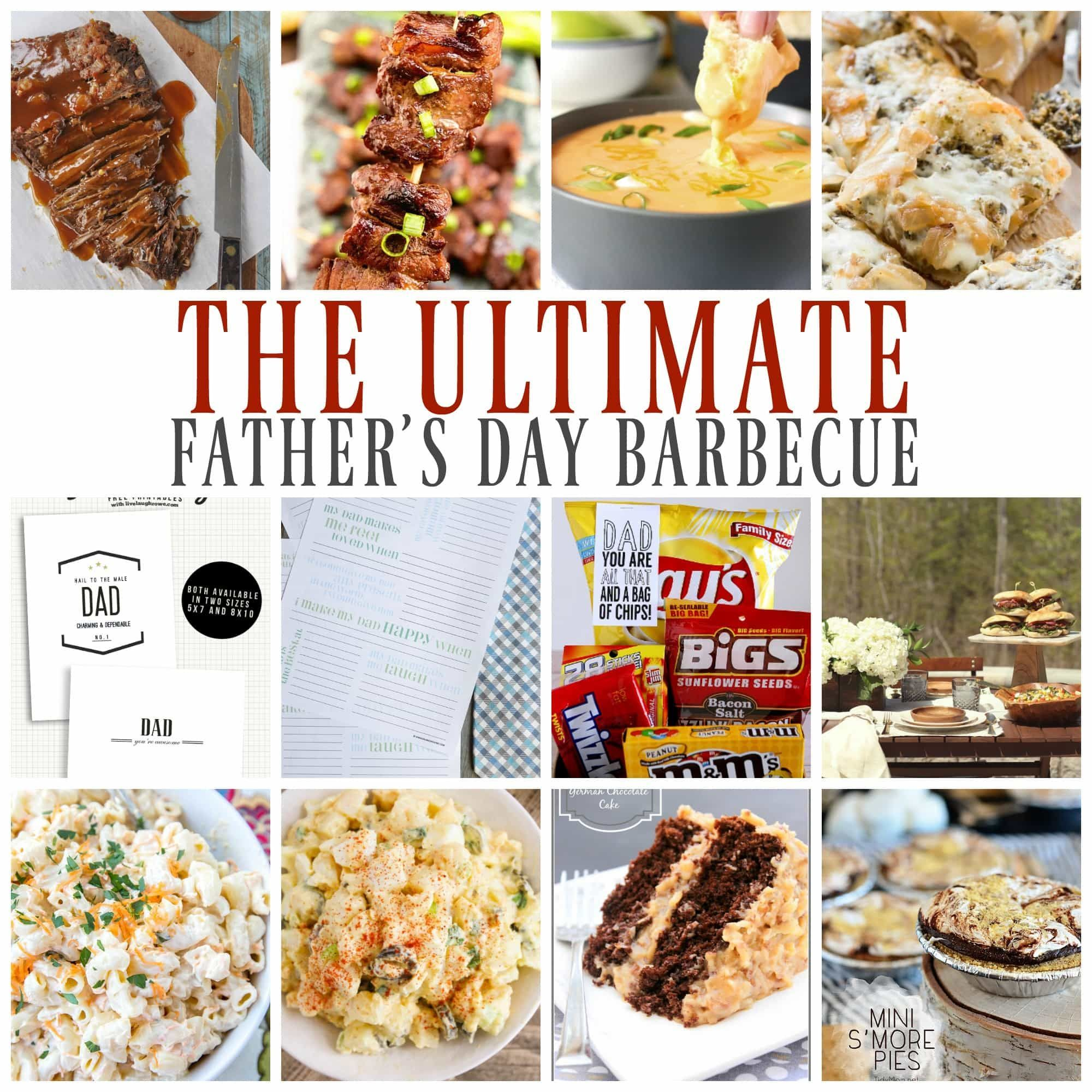The Ultimate Father S Day Barbecue A Dash Of Sanity Fathers Day Dinner Menu The Ultimate Fath In 2020 Holiday Meal Planning Holiday Recipes Fathers Day Dinner Ideas