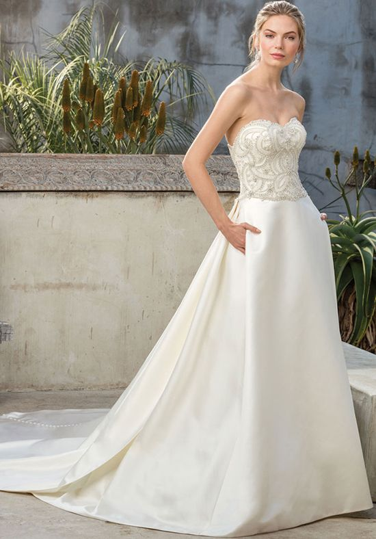 76bc94f9a2d Ball gown strapless