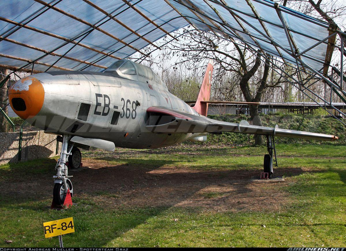 Luftwaffe Republic RF84F Thunderflash Military jets