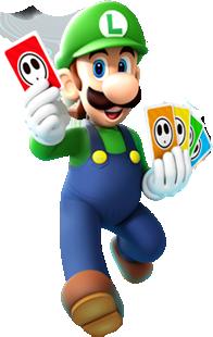 File Luigi Card Artwork Mario Party Island Tour Png