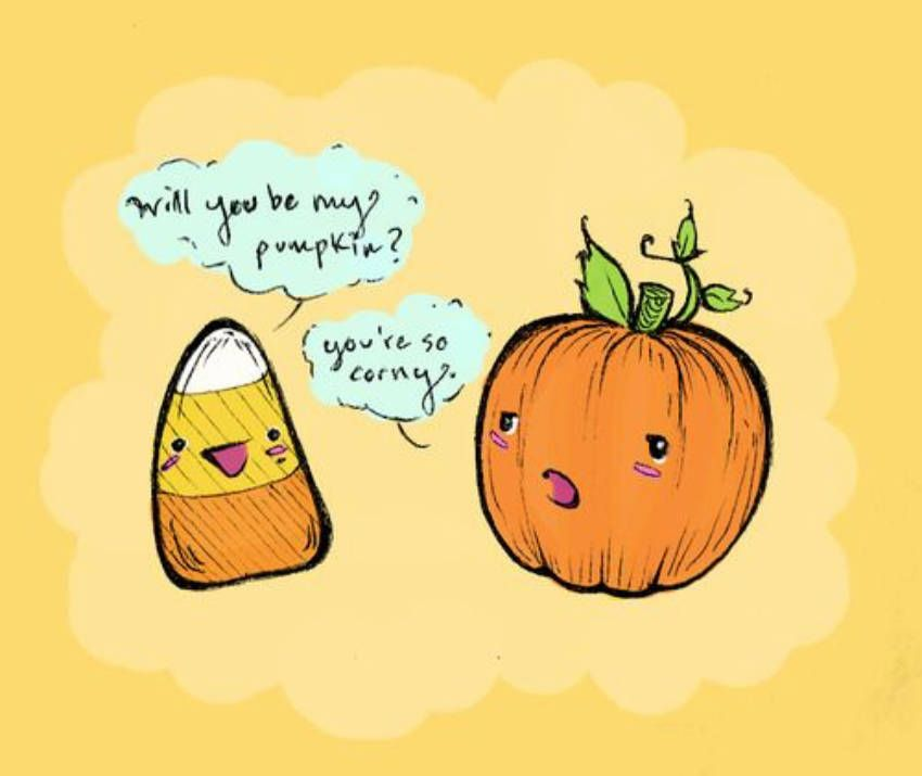 9 Hilarious And Relatable Pictures For Those Who Love Fall Halloween Pick Up Lines Halloween Funny Halloween Jokes