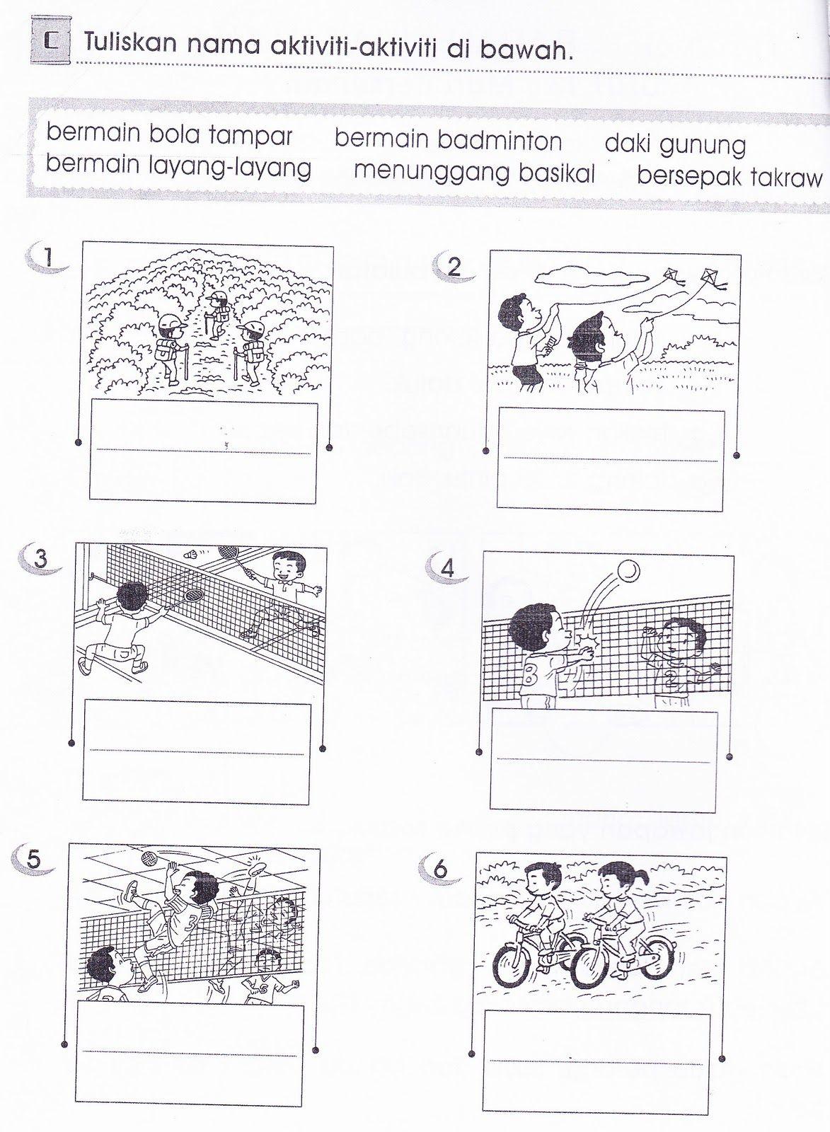 Latihan Bahasa Malaysia Tahun 1 Google Search Preschool Activities Worksheets For Kids Study Materials