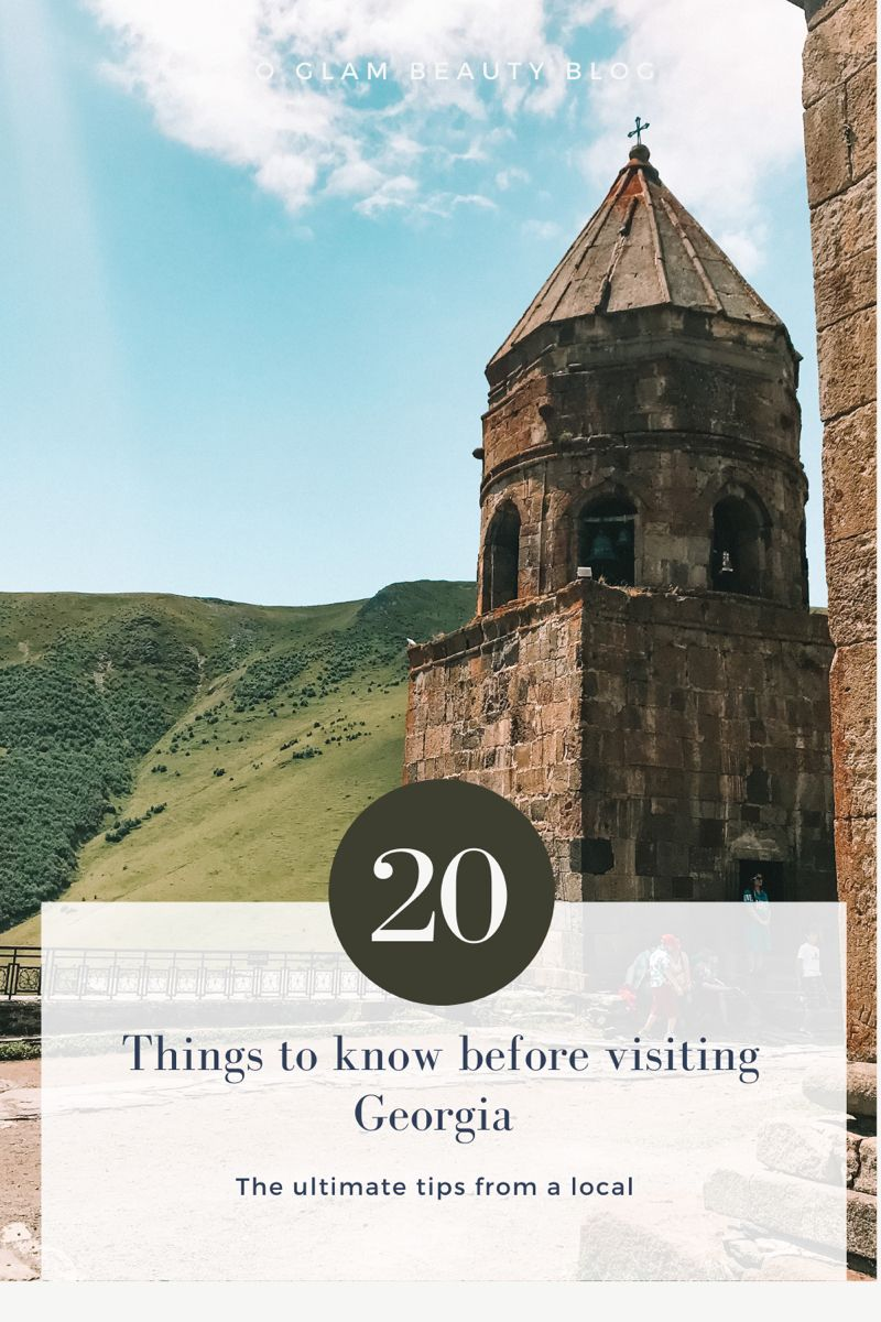 Here are all the things you absolutely must know before visiting Georgia, written by a local! #georgia #georgiacountry #tbilisi #tbilisigeorgia #travel #trveltips