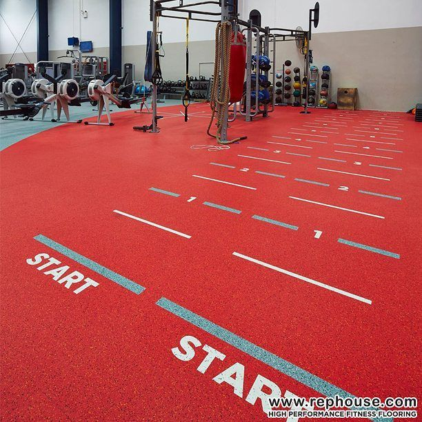 Just Start Neoflex High Performance Fitness Flooring At The Ymca In Penrith City Australia Gym Flooring Rubber Floor Workouts Gym Flooring