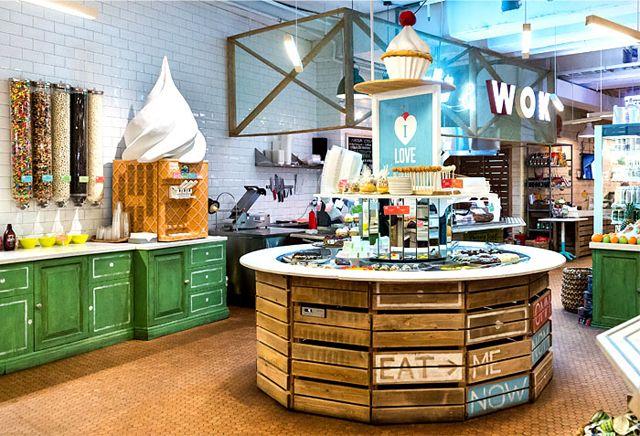 obed buffet un restaurant design inspir par la nature bar restauration et restauration rapide. Black Bedroom Furniture Sets. Home Design Ideas