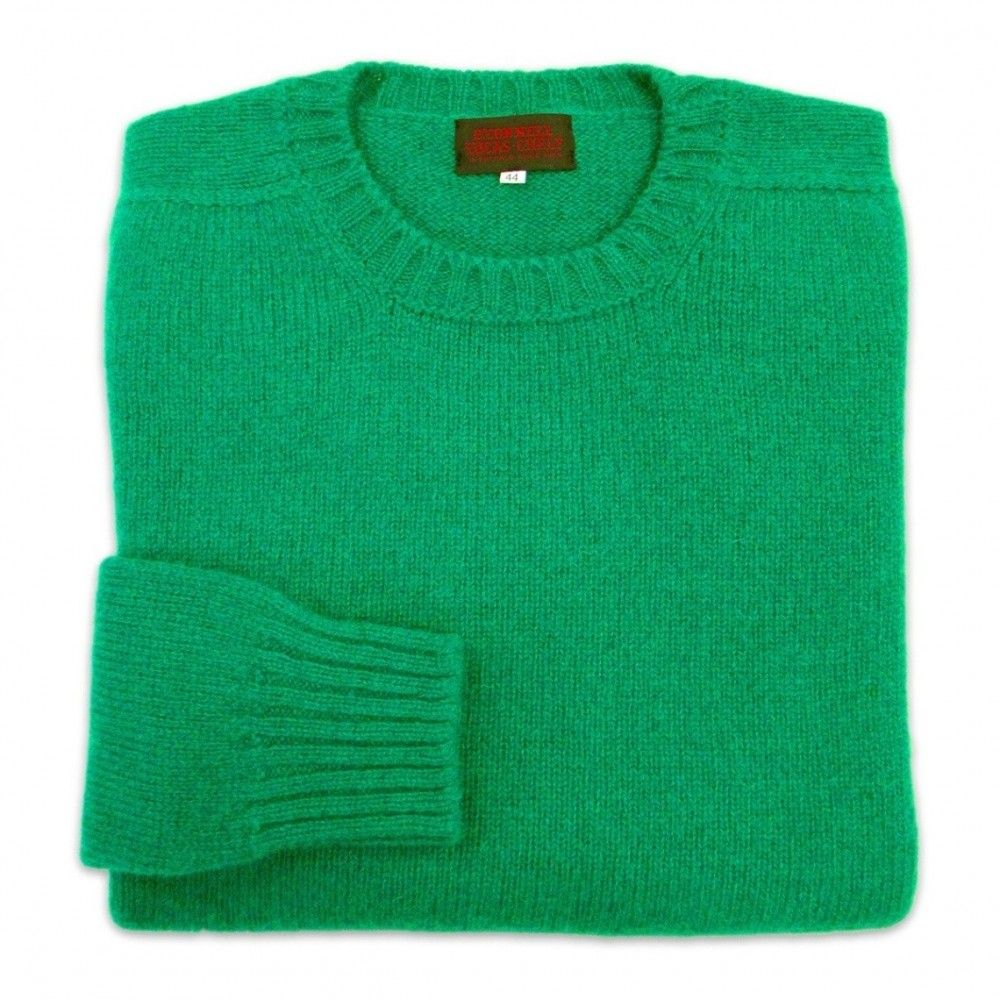 O'Connell's Scottish Shetland Wool Sweater - Kelly Green | Clothes ...