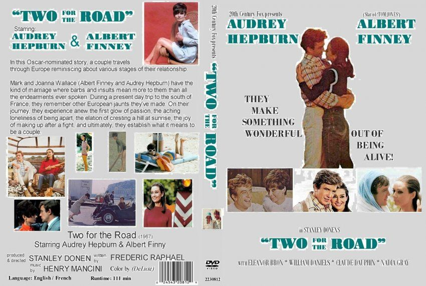 Two for the Road - Movie DVD Custom Covers