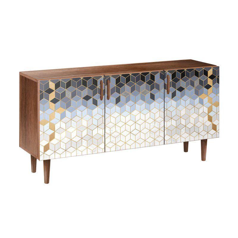 Moran Buffet Table Hairpin Sideboard Wide Sideboard Adjustable Shelving