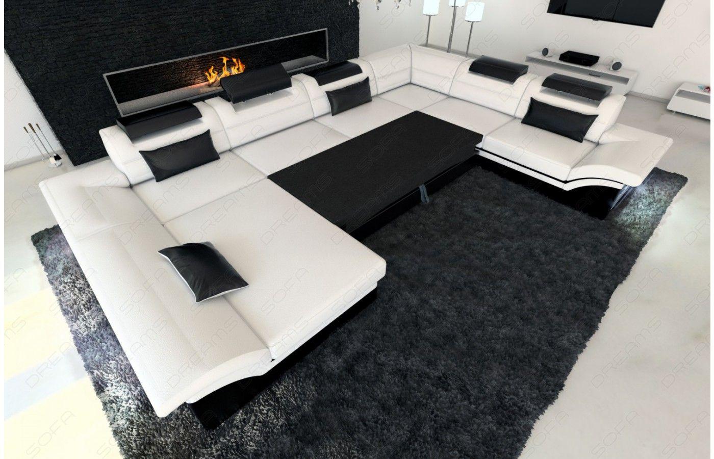 Stoff Wohnlandschaft Enzo XXL | Pinterest | Wohnlandschaft, Sofa und LED