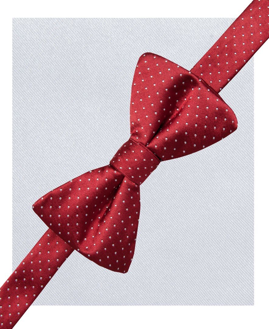 0ecee93aba01 Alfani Spectrum Alex Pindot Pre-Tied Bow Tie and Pocket Square Set, Only at  Macy's