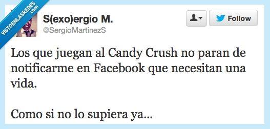 Candy Crush es como un cáncer por @Sergio Martinez Santos