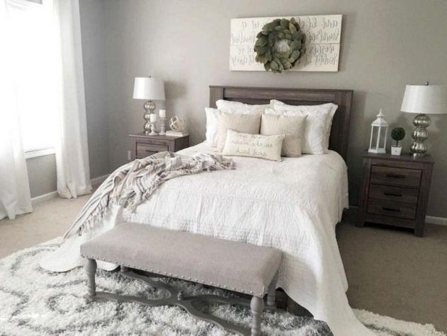 47 Astonishing Farmhouse Bedroom Remodel Ideas - DECOONA
