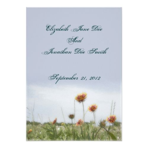 Indian Wedding Invitations Blanket Flower Invitation Card