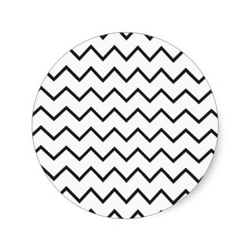 zigzag triangle geometric pattern stickers