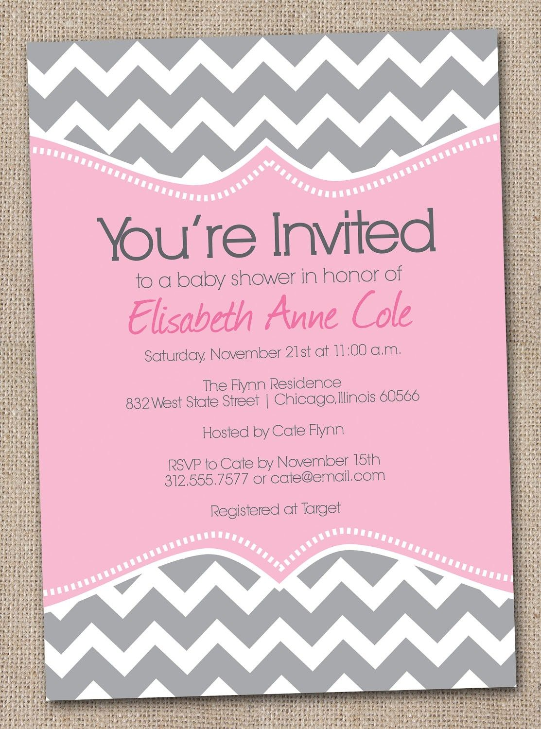 Baby Shower Invite Template Printable Free | clothing | Pinterest ...