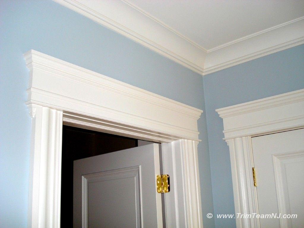 Alternative to crown molding - Windows Door And Crown Mouldings Trim Team Nj Woodwork Fireplace Mantels
