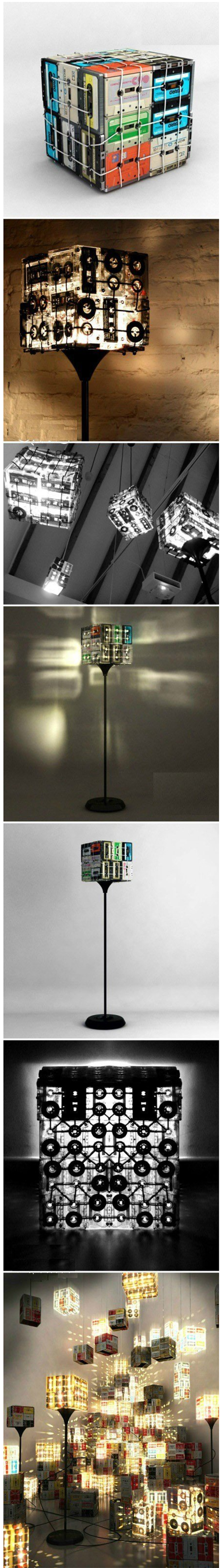 Great Tapes Lamp | DIY & Crafts Tutorials