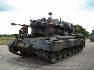 Gepard Tank   Flugabwehrkanonenpanzer Gepard