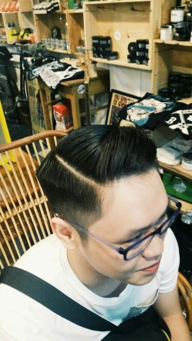 #hairstyle #barber #chill #line #parting