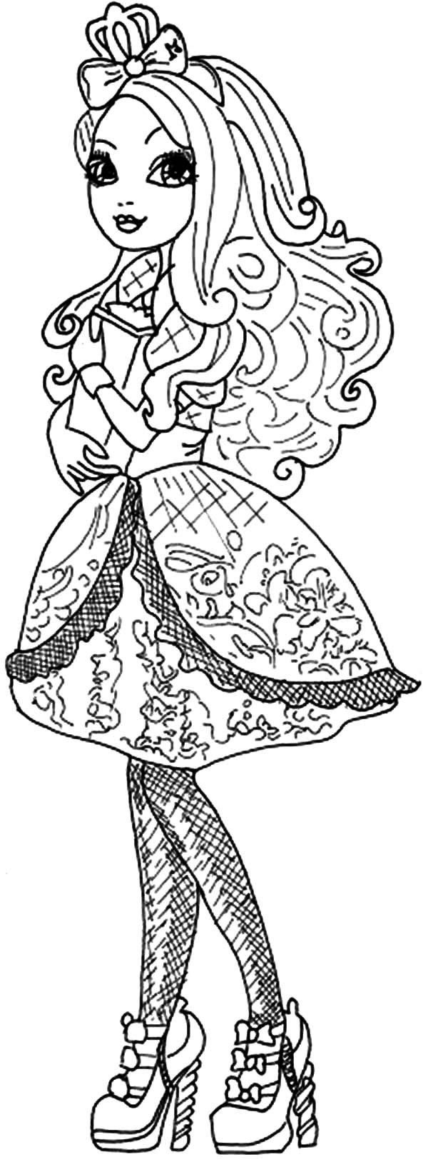 Ever after High Coloring Pages New Elegant Ever after High ...