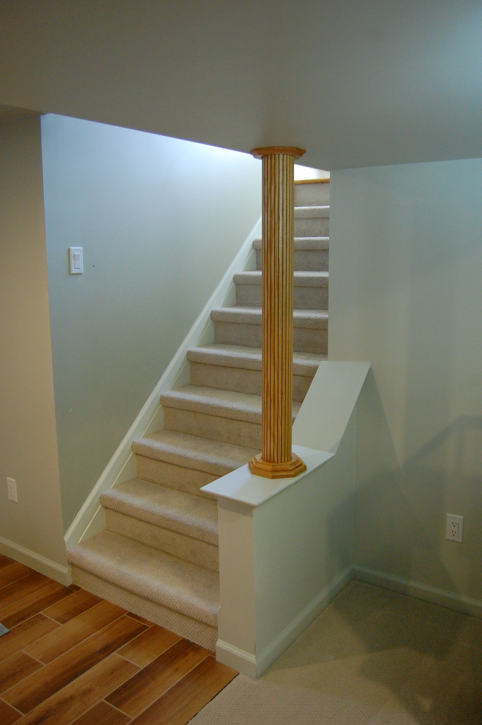 creative way to open your stairwell #stairinspiration