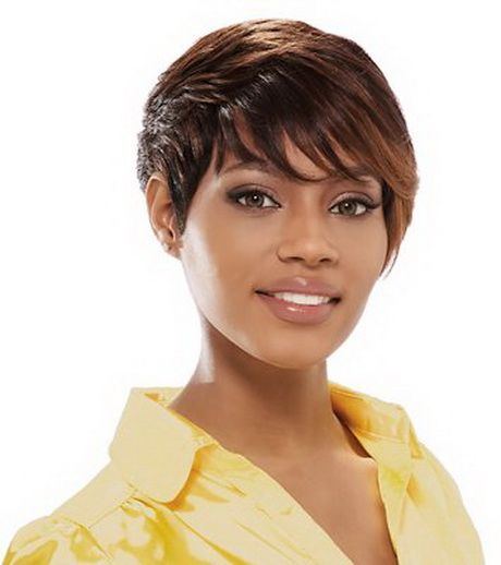 Tissage Coupe Courte Short Hair Styles African Hairstyles Hairstyle