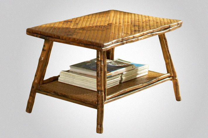 Bamboo Coffee Table From Indonesia A Beautiful Dash Of The Far