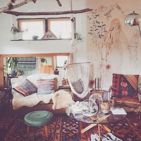 Boho indie room decor google search pinteres for Interior design ideas tumblr