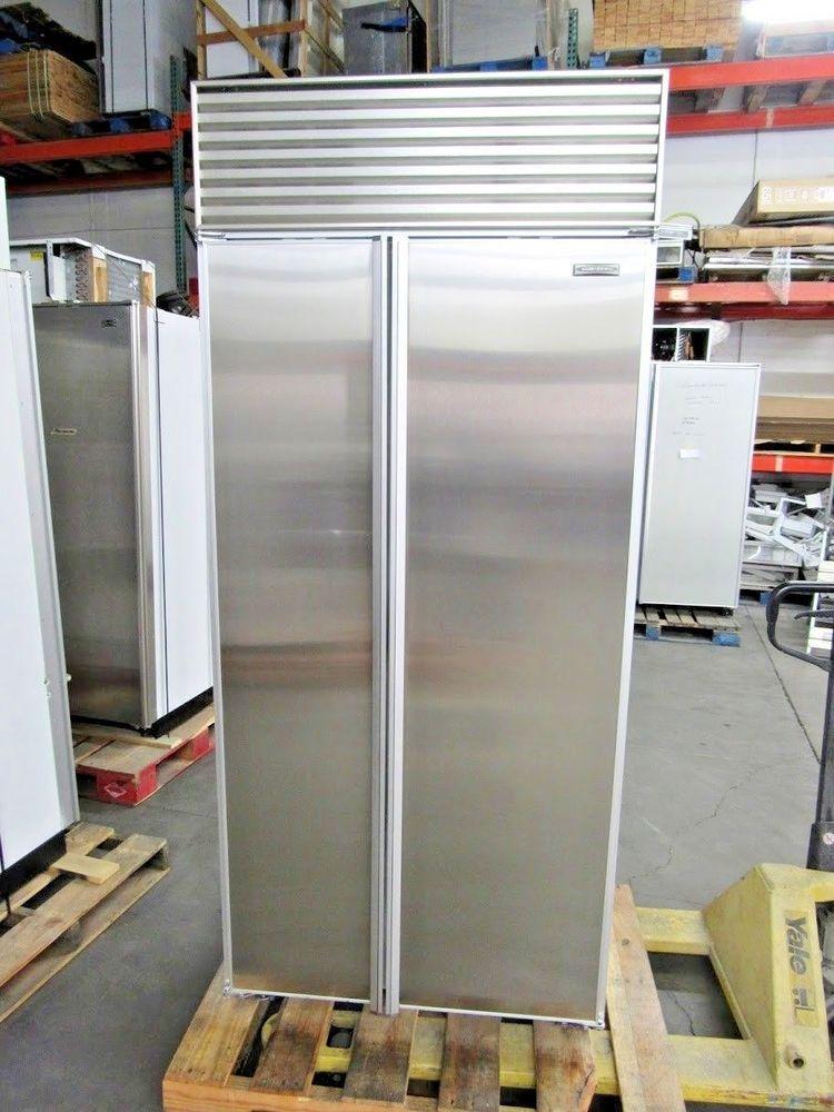 Sub Zero Model 561 36 Stainless Steel Built In Refrigerator Sub