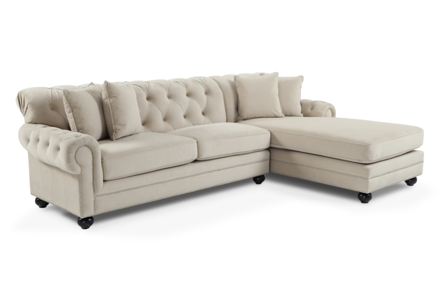 Victoria Sectional From Bob's. More Sophisticated, And No
