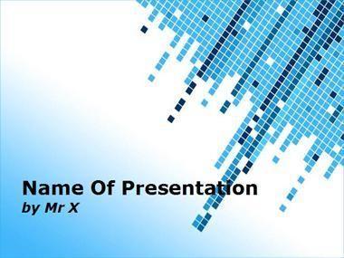 multi cubes powerpoint presentation template | powerpoint, Modern powerpoint