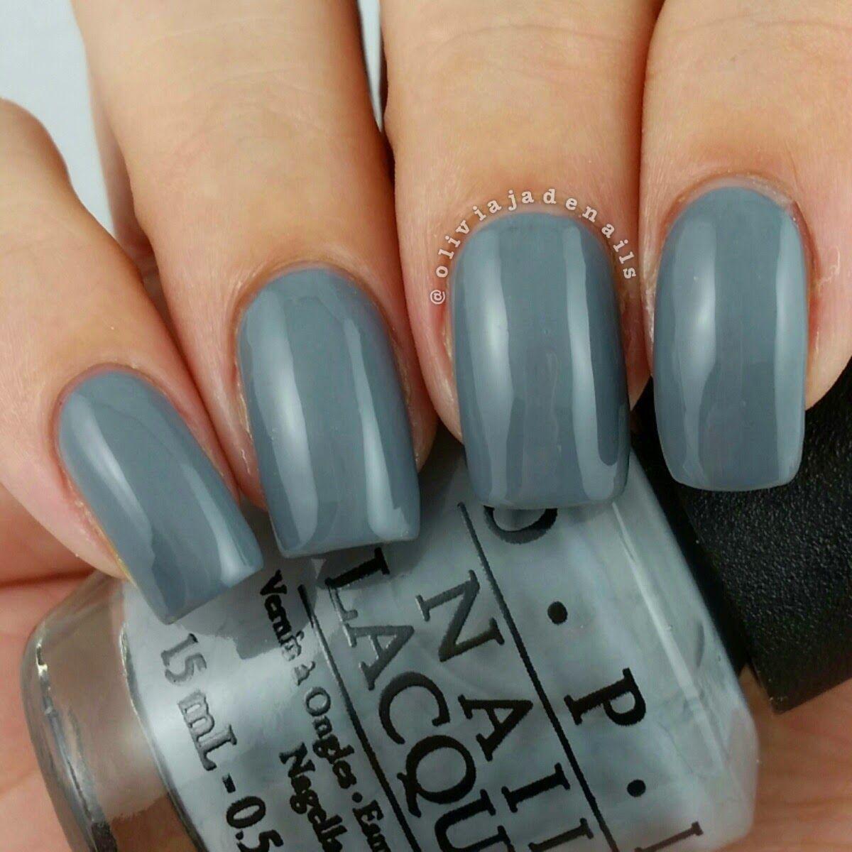 OPI Embrace The Gray