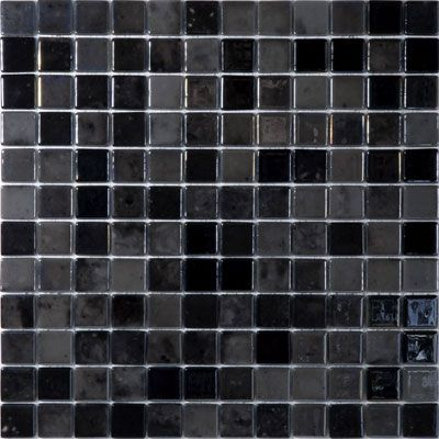 Solistone X Luxor Gl Collection Black Floor Tile